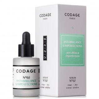Codage Serum No.2 Mattifying & Repairing 10ml