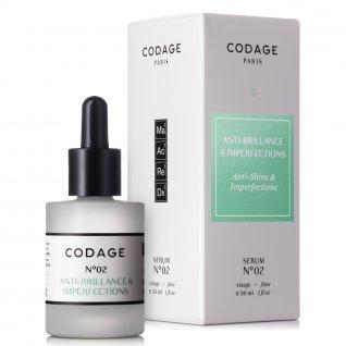 Codage Serum No. 2 Mattifying & Repairing 30ml