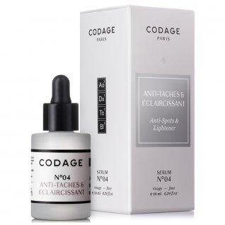 Codage Serum No.4 Anti Spots & Lightening 10ml