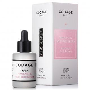Codage Serum No.7 Soothing & Anti Redness 10ml