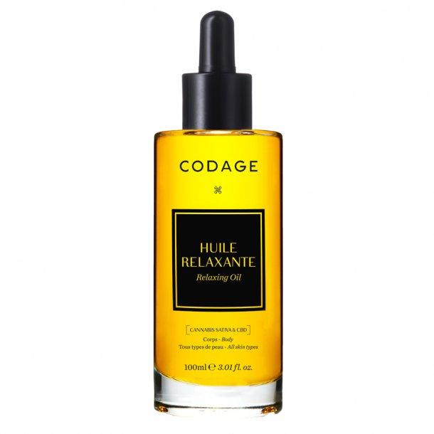 Codage Relaxing Oil med CBD 100 ml